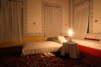 The room where Baha'u'llah passed away in 1892